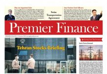 Premier Finance Newspaper – No 815 – Tehran,Iran